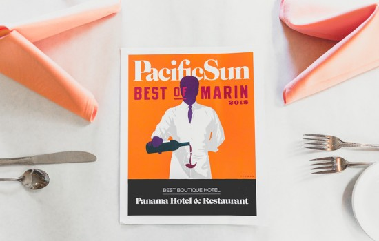 Welcome To The Panama Hotel - Recognition From Best Of Marin