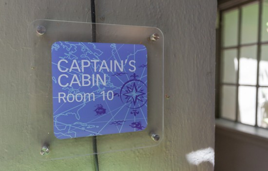 Welcome To The Panama Hotel - Captain's Cabin Room