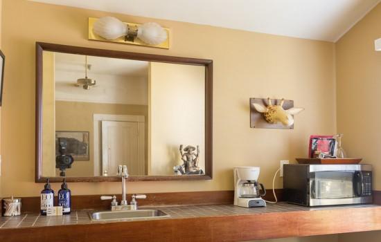 Ken's Safari Room - Vanity