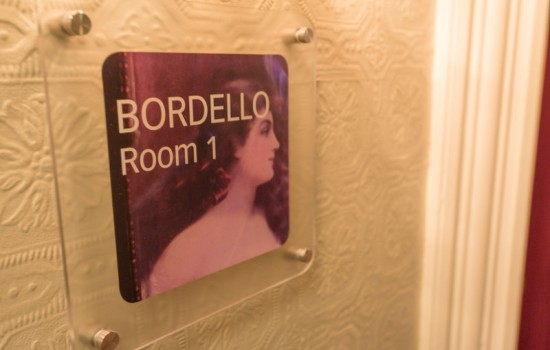 Welcome To The Panama Hotel - Bordello Room