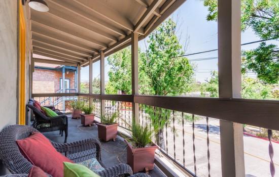 Roy Rogers' Balcony